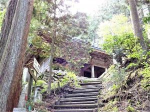 横峰寺山門